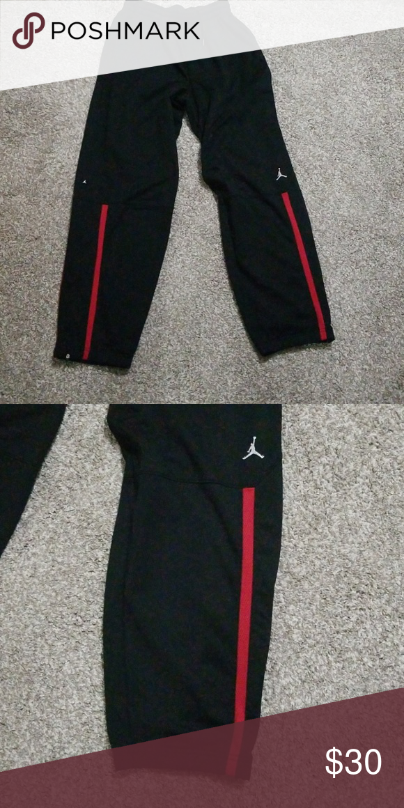 2643166d3288 Nike Jordan Sweatpants Joggers Pants Great Quality ... Like New Condition  Size XL   Long Jordan Pants Sweatpants   Joggers