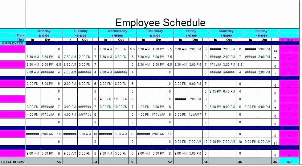 Daycare Staff Schedule Template Fresh Daycare Staff Schedule Template Size Emergent Schedule Template College Schedule Daily Schedule Template