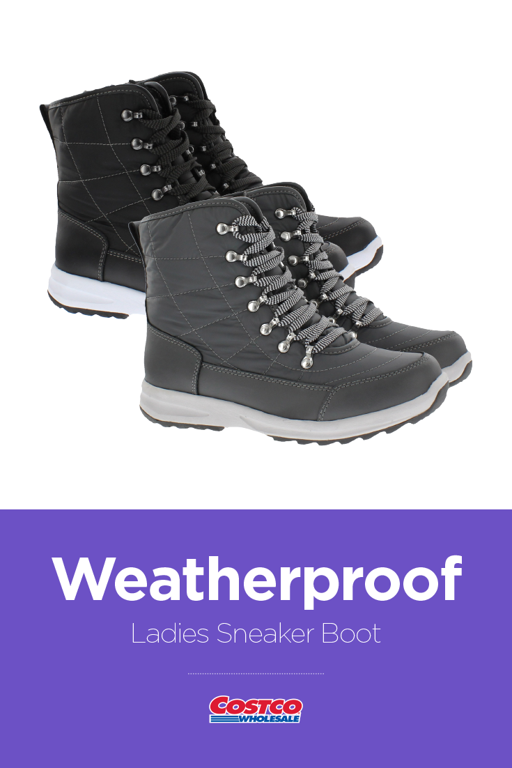 26a3b59594fde9 Weatherproof Ladies Sneaker Boot