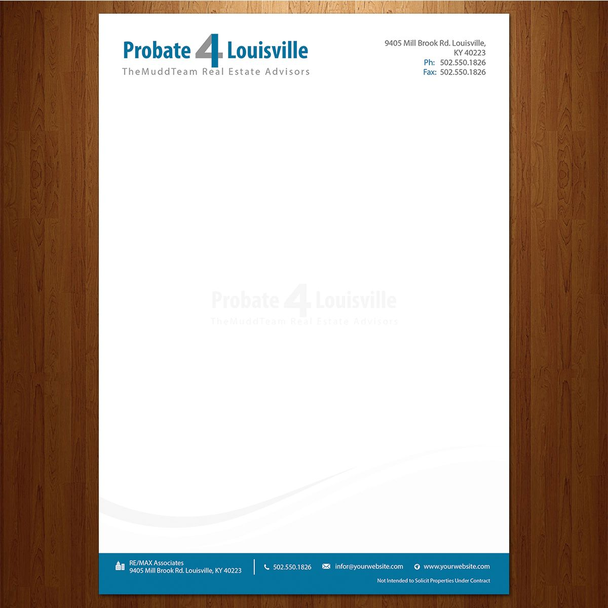 Check Out This Modern Professional Letterhead Design  Design
