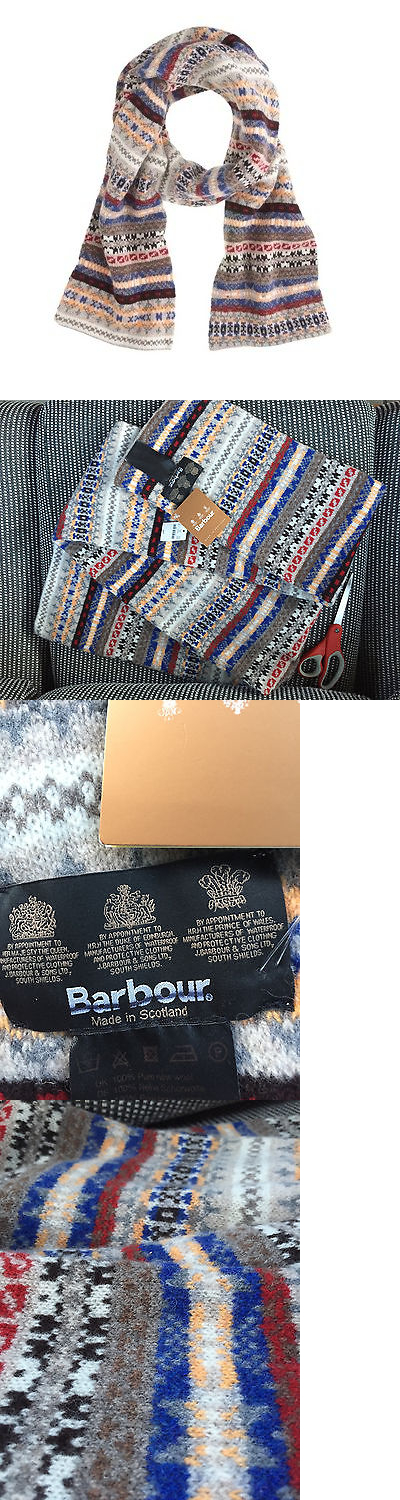 Scarves 52382: $99 Barbour® Melrose Fair Isle Scarf Made In ...