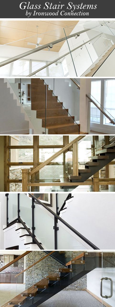 Best Custom Glass Stair Systems Ironwood Connection 400 x 300