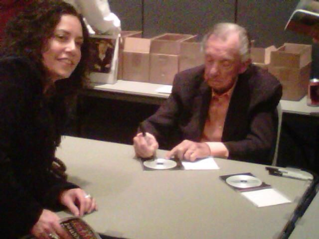 Ray Price signing autographs — at Stafford Centre.