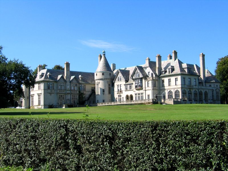 Old Mansions   ... old newport ri mansion from the gilded age now known