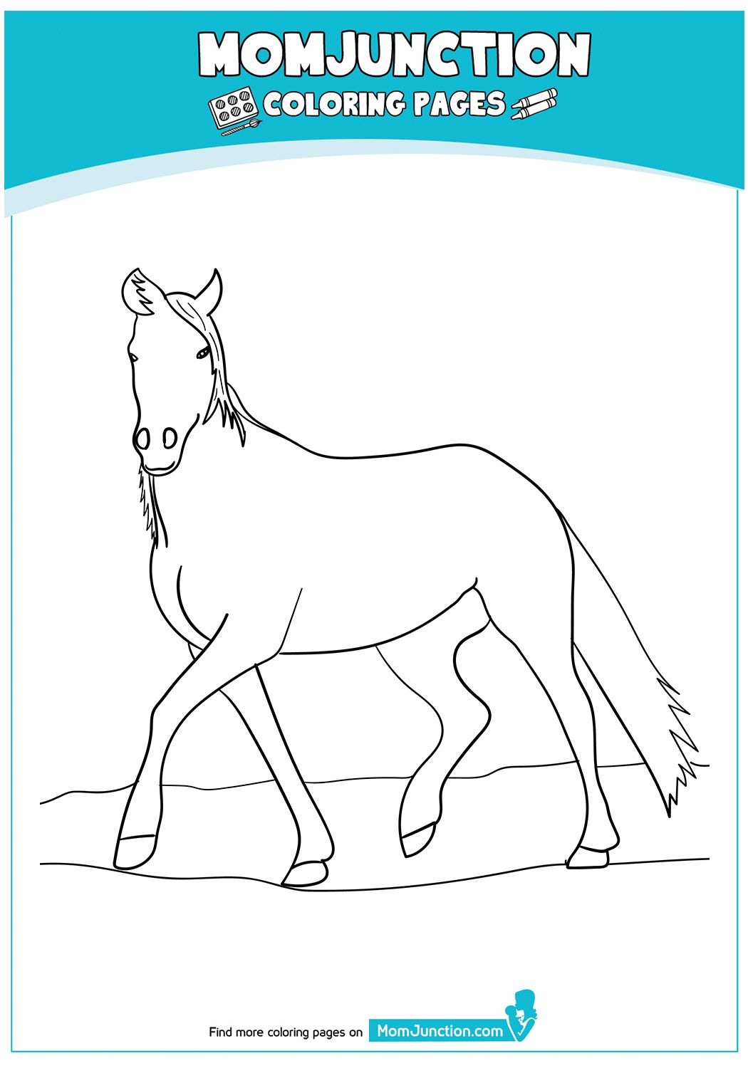 Blue Roan Arabian Horse 17 Horse Coloring Pages Horse Coloring Coloring Pages [ 1500 x 1050 Pixel ]