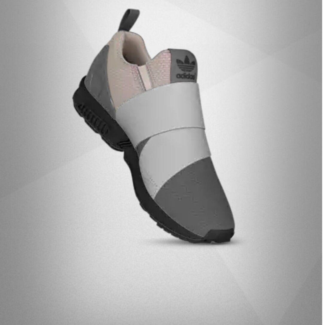 adidas zx flusso scivolare su  adidas adidas zx zxflux slipon solo