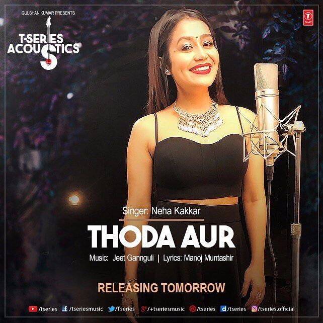 After My Favourite Arijitsing S Version Tseries Official Launches My Version Of Thodaaur Song From Ranchidiaries Which Rele Neha Kakkar Mp3 Song Songs