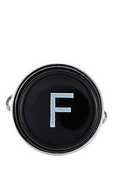 Barneys New York Initial Typewriter Key Cufflink