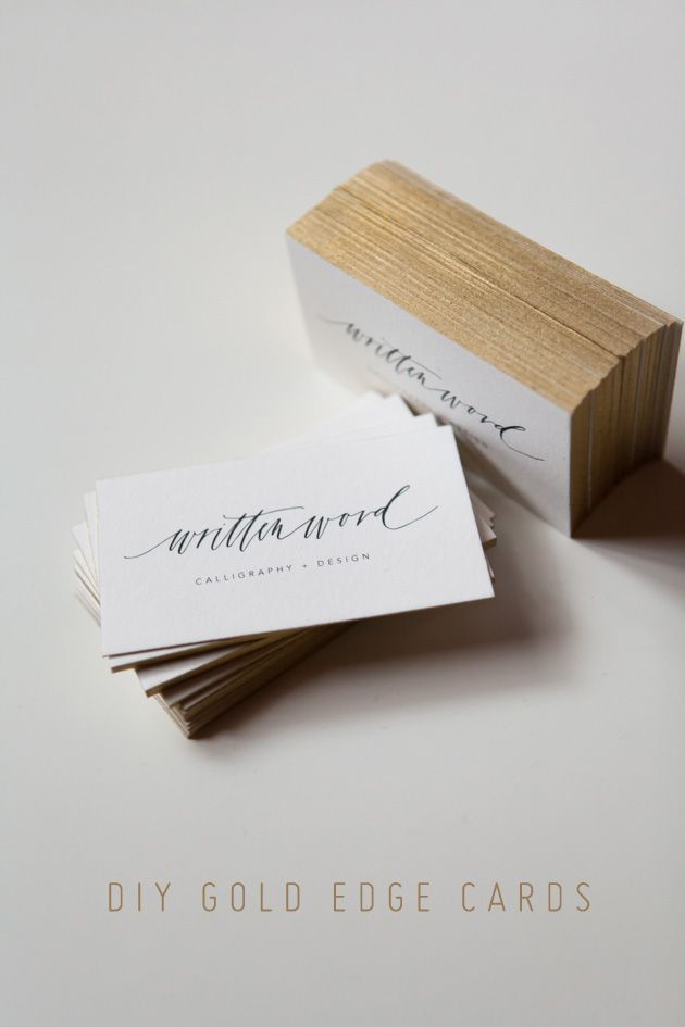 Oh so very pretty diy gold edge cards business cards pinterest oh so very pretty diy gold edge cards cheap business reheart Images