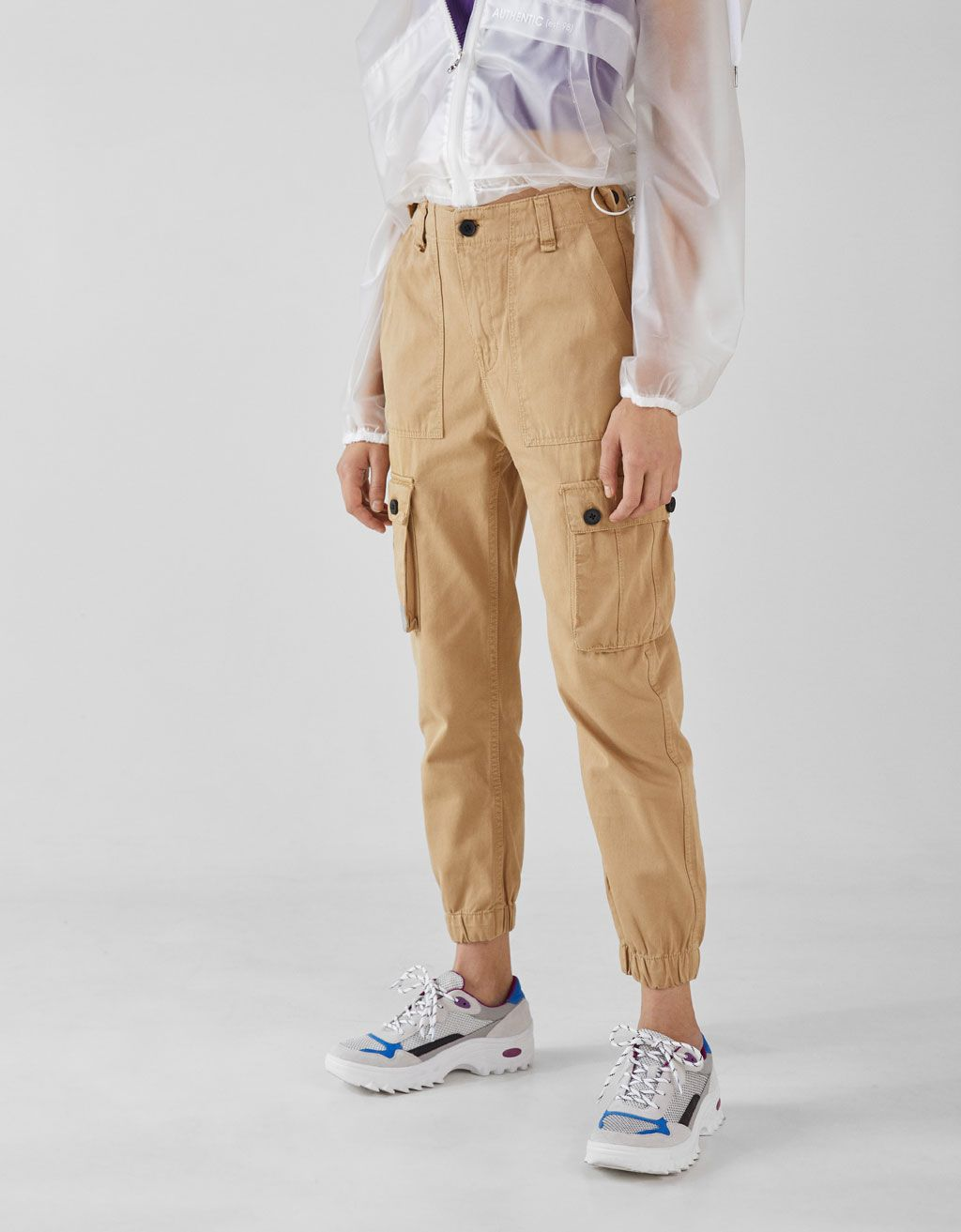 c9ae4409a3e44 Bershka Cargo pants. Discover this and many more items in Bershka with new  products every