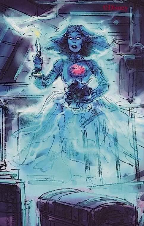 Attic Bride Haunted Mansion Concept Art Buscar Con