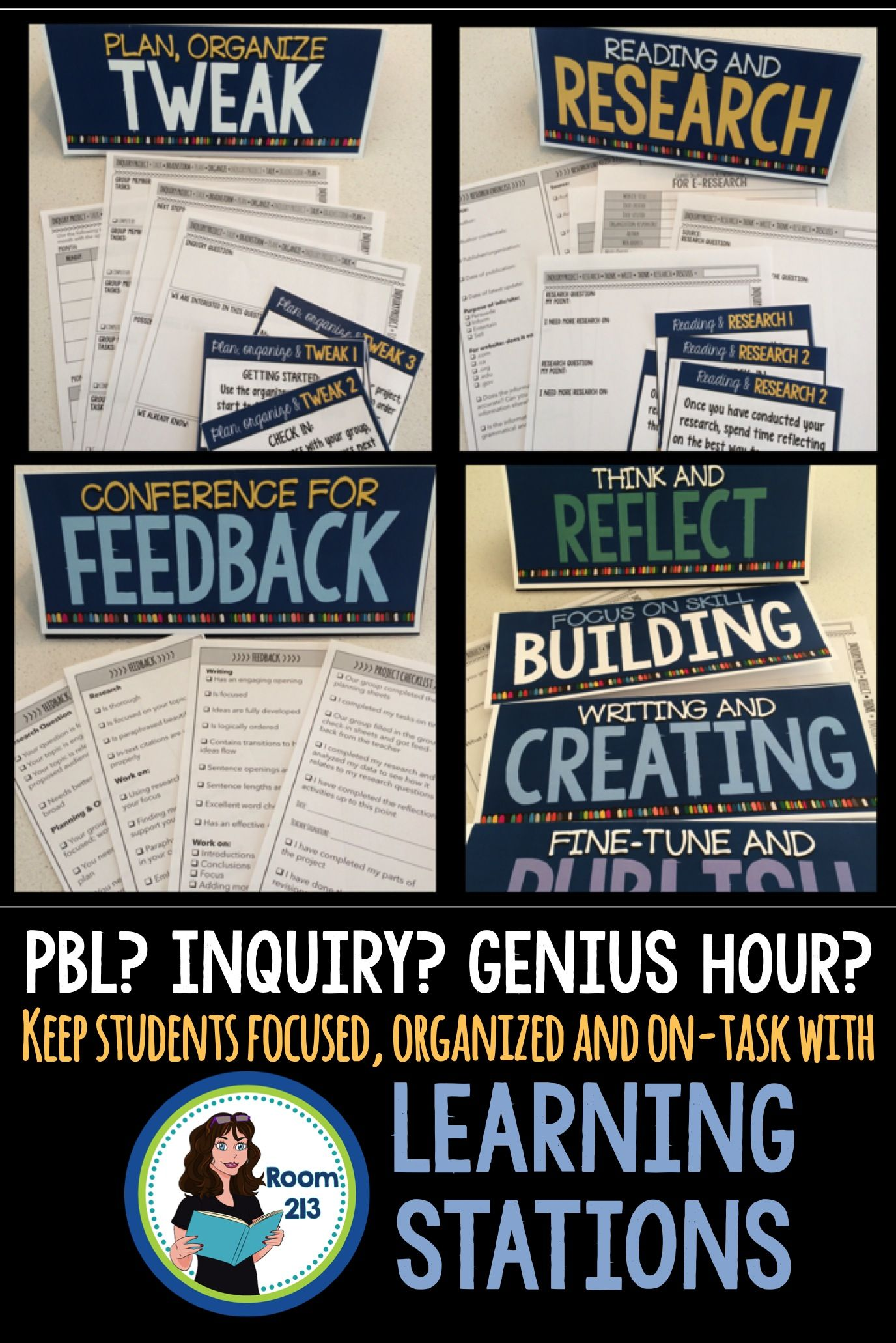 Inquiry Project Learning Stations