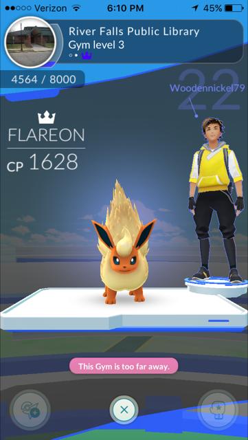 Library gym 12116. Woodennickel79! Pokemon