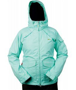 On Sale Foursquare Tobin Snowboard Jacket Misty - Womens up to 50% off