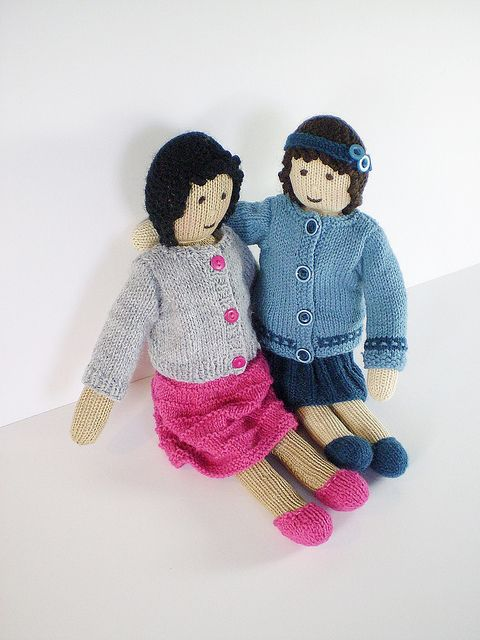 Penny Doll 22cm Tall Free Knitting Pattern Pdf Format Click