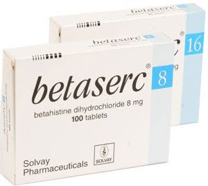 بيتا سيرك Betaserc أدوية الدوخة والدوار Betahistine Medical Information Medical Solvay