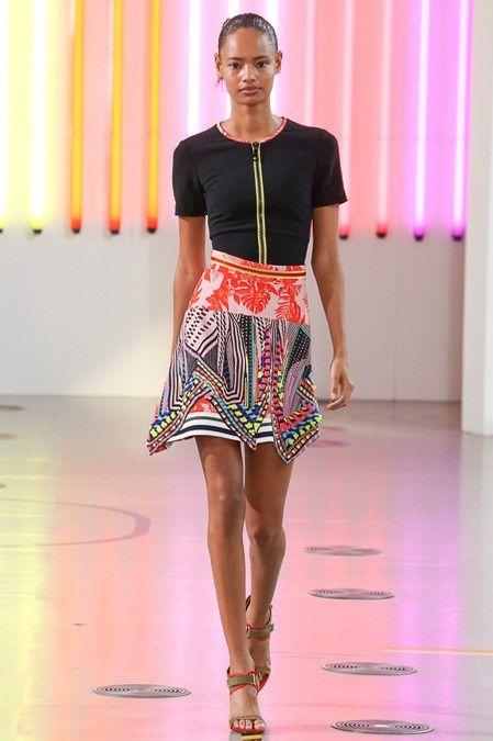 Preen by Thornton Bregazzi womenswear, spring/summer 2015, London Fashion Week