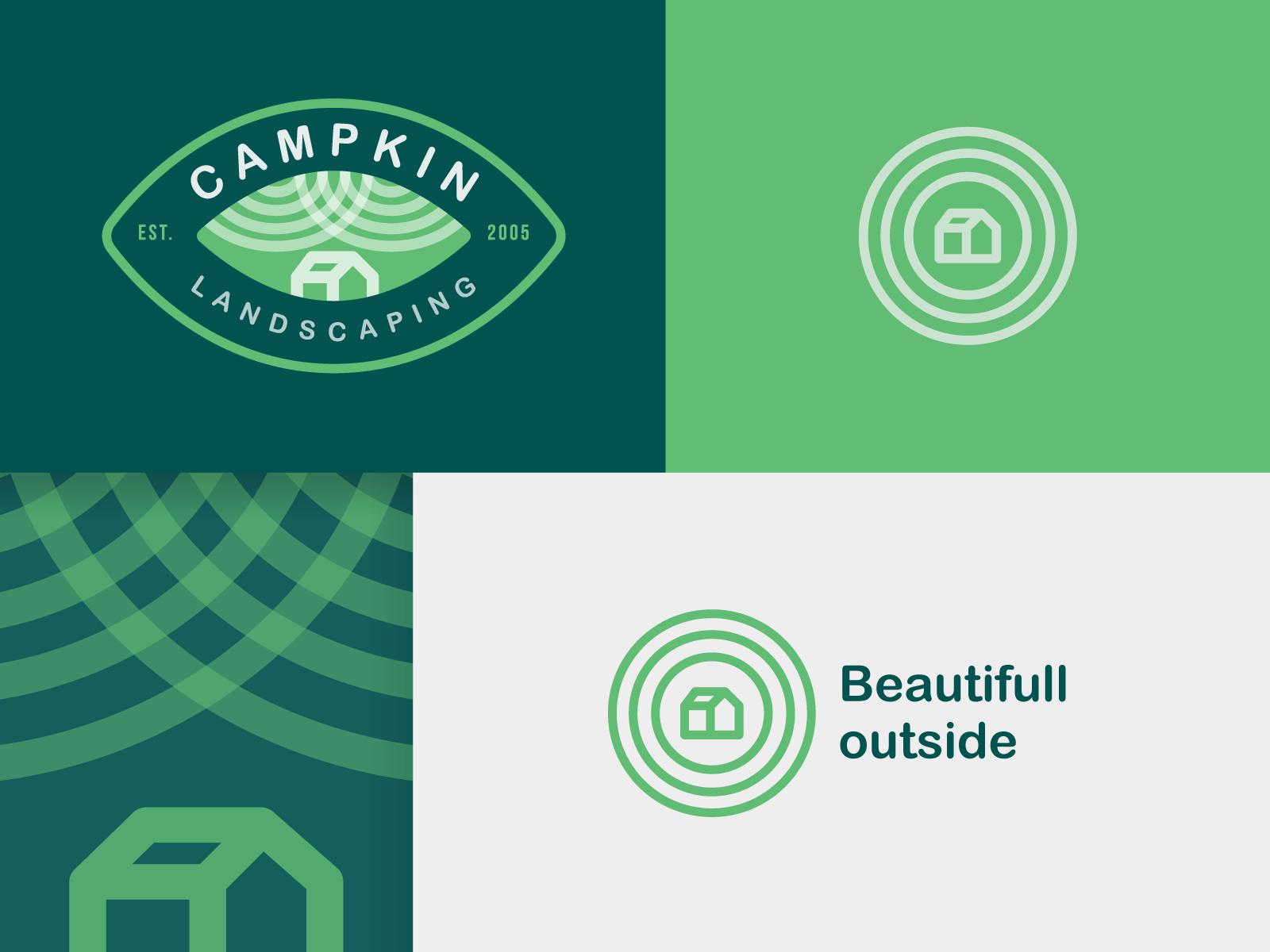 Campkin Landscaping Final Logo Landscaping logo