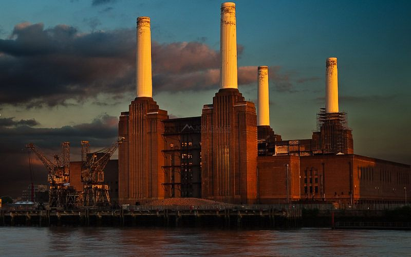 Battersea Power Station London Signed. The London Architectural Collection