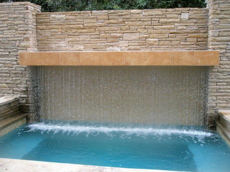 Pool Environments Design Studio Water Features Waterfalls Backyard Modern Pools Water Walls