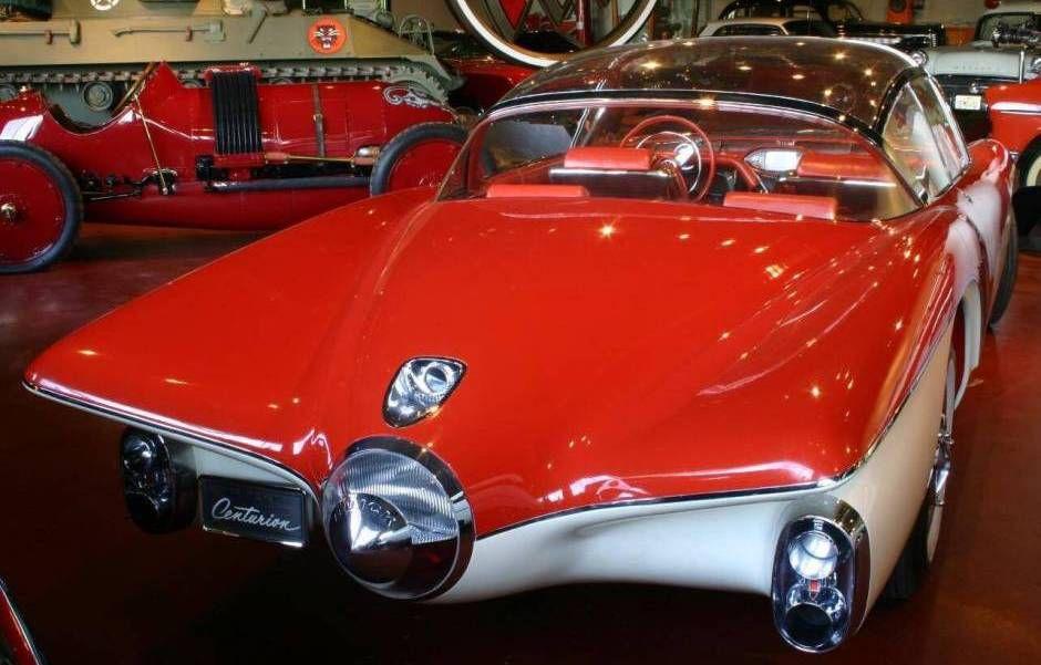 1956 Buick Centurion Concept Car Ride Sally Ride Pinterest