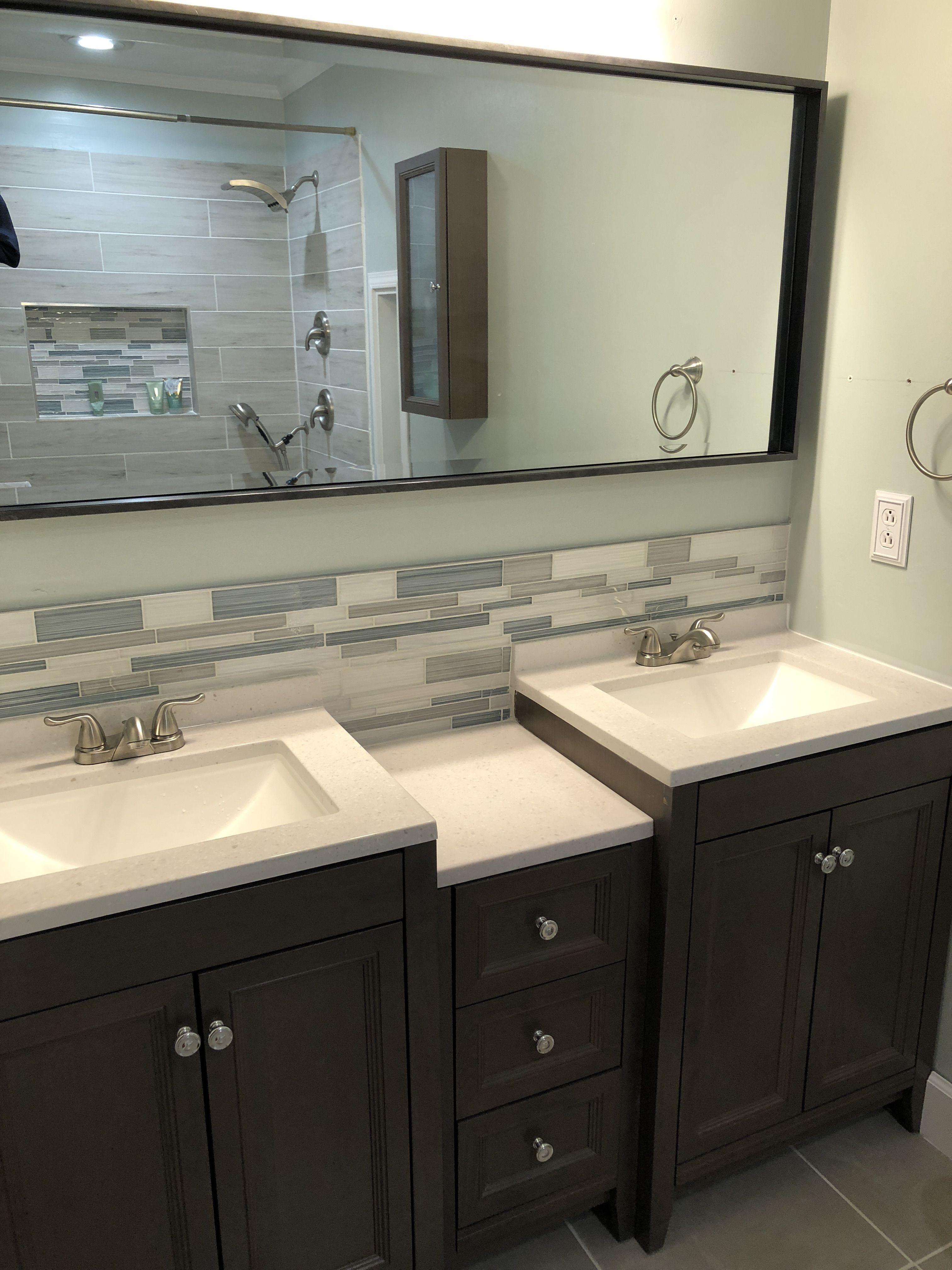 Glacier Bay Delridge In Flagstone Bathroom Suite 2019