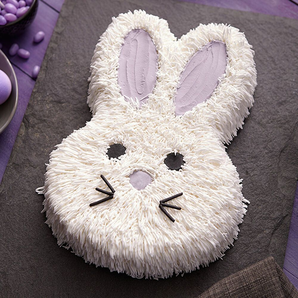 Fluffy bunny cake recipe bunny birthday cake easter