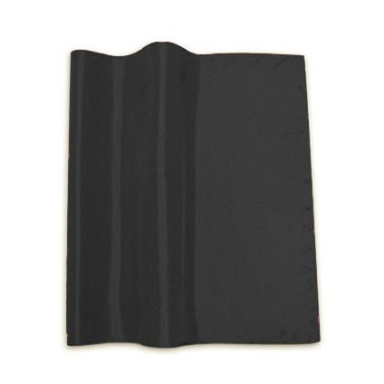 Beau Home kant & klaar gordijn ringen Silky taft zwart 140 x 280cm | Praxis