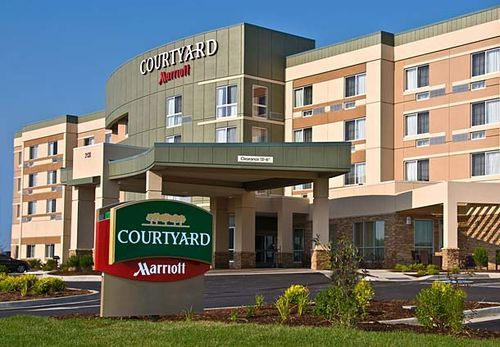 The Courtyard By Marriott Is The Newest Hotel In The Area Having
