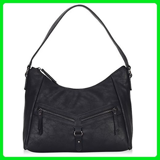 8b0e6201278d Hynes Victory Slouchy Hobo Shoulder Bags for Women Vintage Crossbody Purses  Black - Shoulder bags ( Amazon Partner-Link)