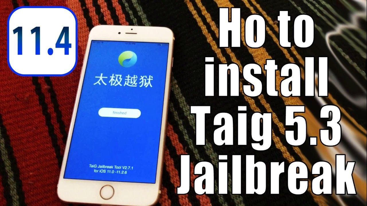 Taig 11 4 How To Root Acces Jailbreak Iphone Ios 11 3 1 11 2 6