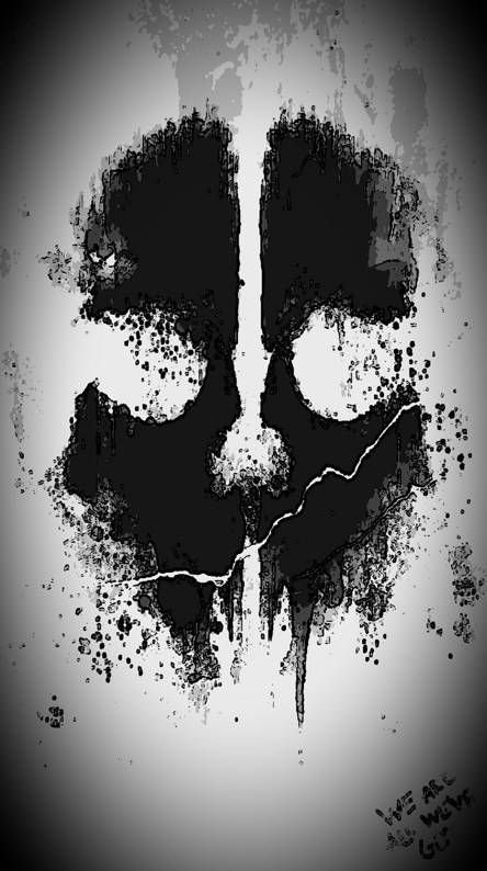 call of duty ghosts logo wallpaper