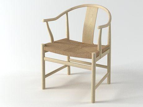 PP Mobler PP56,PP66 The Chinese Chair 3d model   Hans Wegner