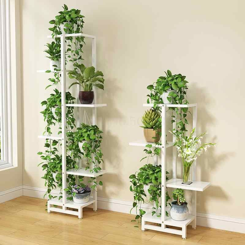 Flower Shelf Home Multi Storey Indoor Space Wrought Iron Flower Stand Multi Layer Living Room Balcony Flower In 2020 House Plants Decor Plant Decor Indoor Flower Pots