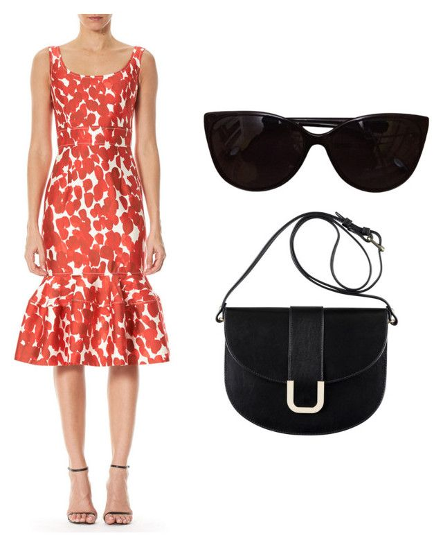 """Untitled #119"" by mafe2605 on Polyvore featuring Carolina Herrera, Tiffany & Co. and A.P.C."