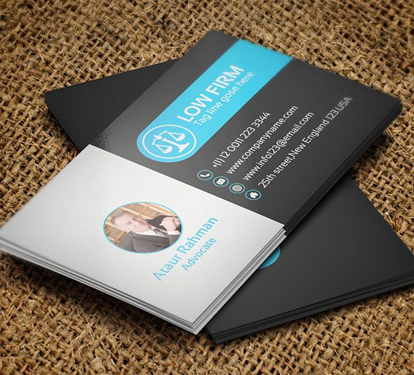 25 Creative Lawyer Business Card Templates - Smashfreakz | hemanth ...