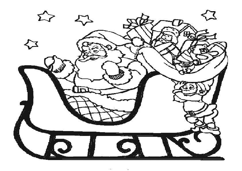 ausmalbilder nikolaus – Ausmalbilder für kinder | Coloriages de Noël ...