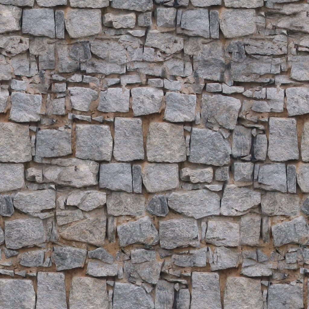 Blender Texture Painting Stone Wall