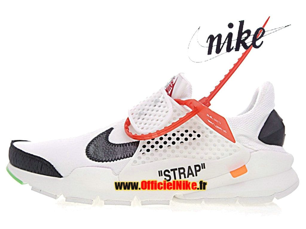 designer fashion f3c0e 61a99 Homme Chaussures Off White x Nike La Nike Sock Dart Blanc Noir
