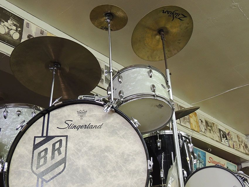 """The Beat Goes On at """"Wrecking Crew"""" Hangout Pro Drum Shop - Los Angeles Magazine"""