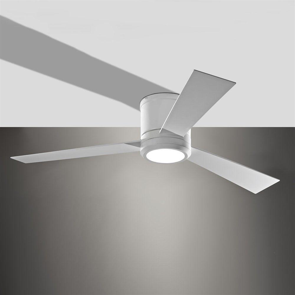 Monte Carlo Fan Company 3clyr52rzwd 52 Clarity Ceiling Fan 380 Ceiling Fan Ceiling Fan With Light Recessed Ceiling Lights