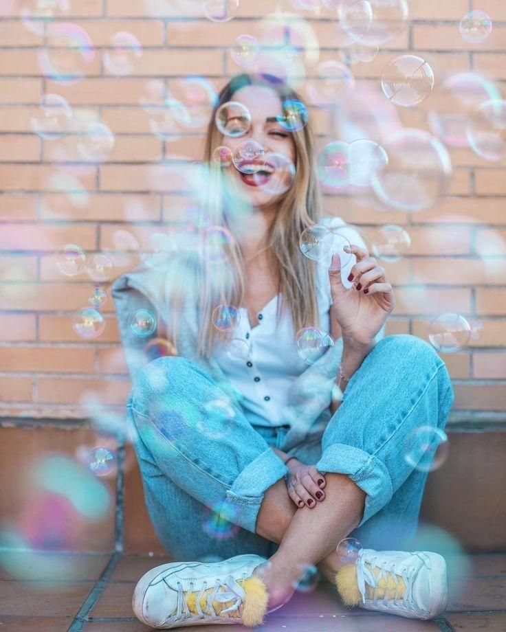#creativephotography #Trouble #EXPECTATIONS Bubble Trouble ? EXPECTATIONS when you buy a bubble machine (something s ... -