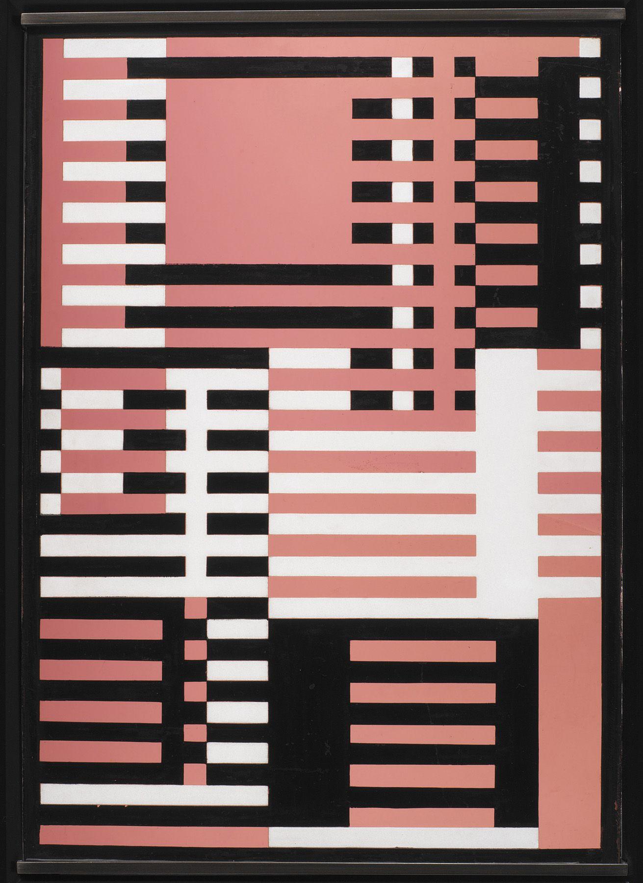 Josef Albers, again Geometric art, Bauhaus textiles