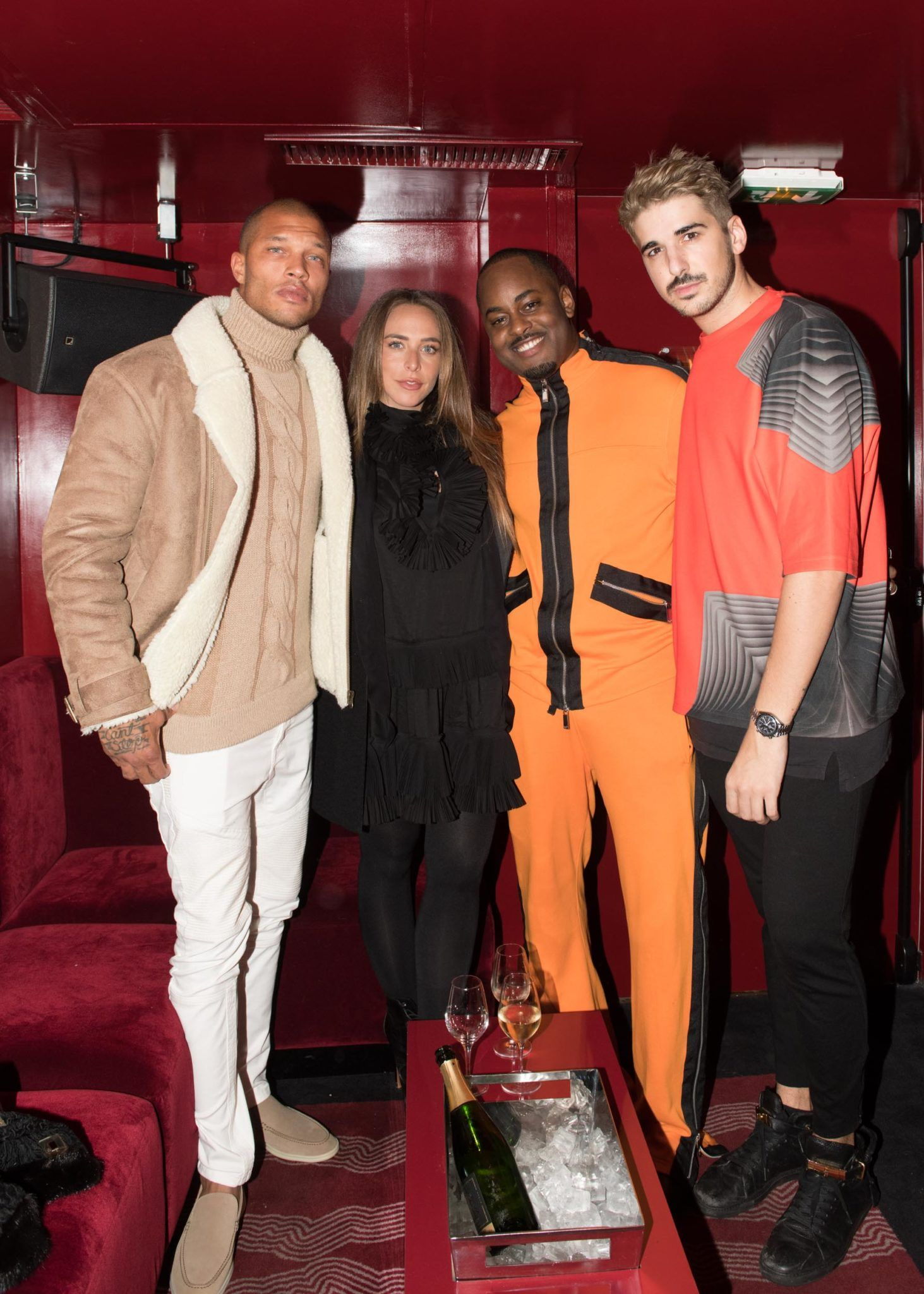 2d6803075d6 We took our Launch of Issue 4 with Cover boy Jeremy Meeks to our friends  and readers during Paris Fashion Week. We opened our doors at the Concept  club ...