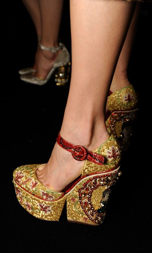 Dolce & Gabbana Spring 2014 - Shoes
