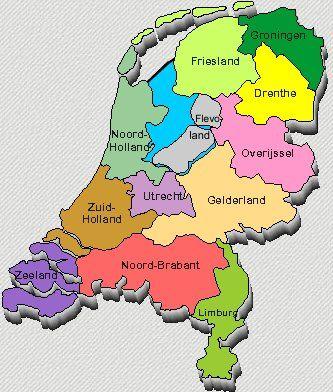 Kaart Van Nederland Google Zoeken Nederland Kaarten
