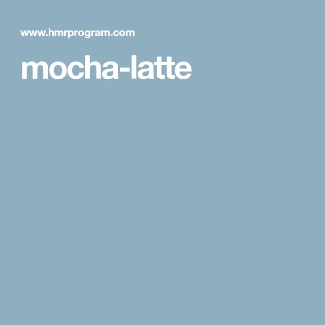 Mocha, Latte, Mocha Recipe