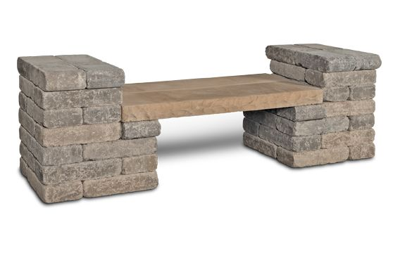 General Shale | The Retreat Garden Bench Outdoor Living ...