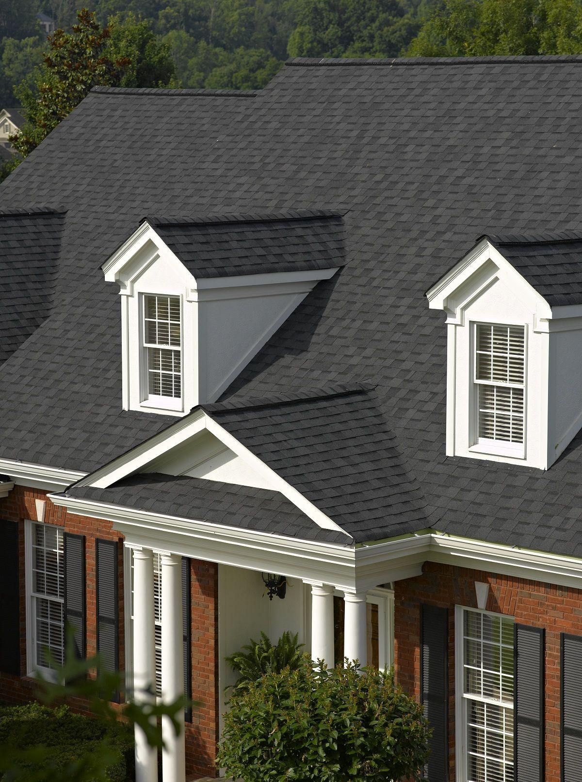Best Certainteed Roofing Landmark Series In Moire Black 400 x 300
