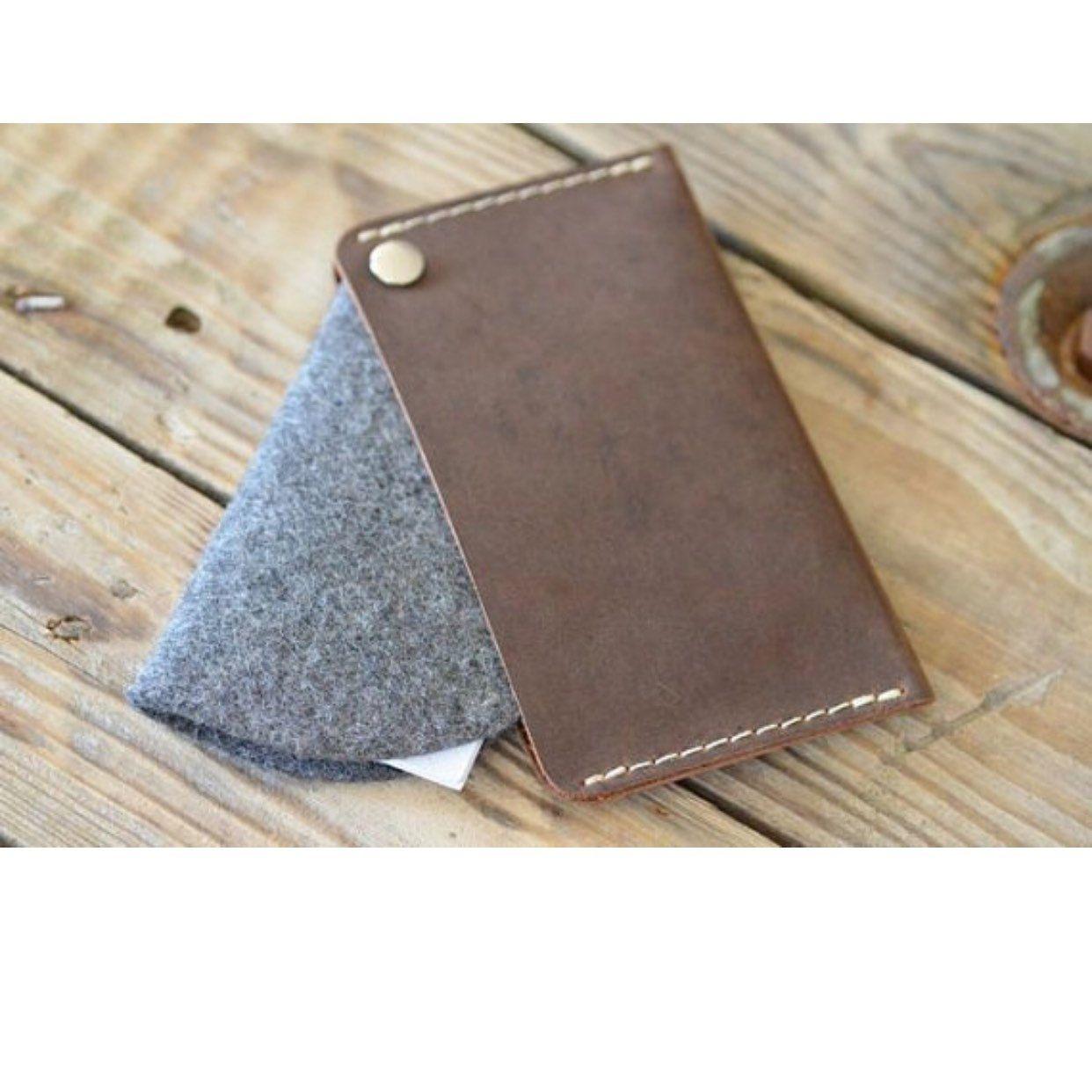 Leather Business Card Holder - BIGWIG | Organic Leather | Handmade ...